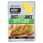 Weber Just Add Juice Marinade Mix - Garlic & Herb - 32g