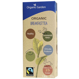 Organic Garden Tea - Breakfast - 25's