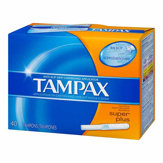 Tampax Tampons - Super Plus - 40's