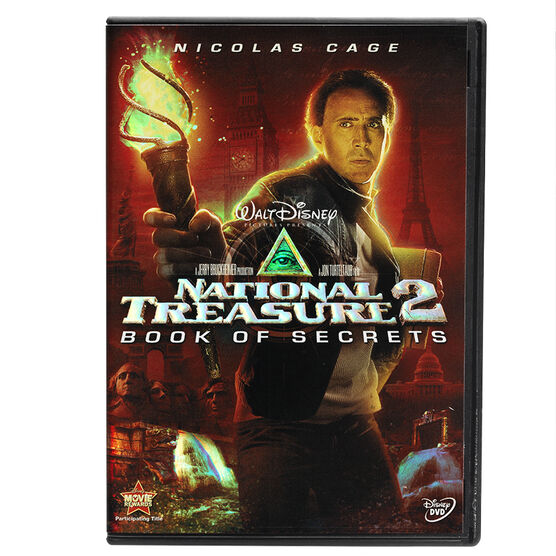 National Treasure 2: Book Of Secrets - DVD