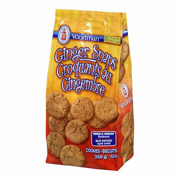 Voortman Whole Wheat Ginger Snap - 350 g