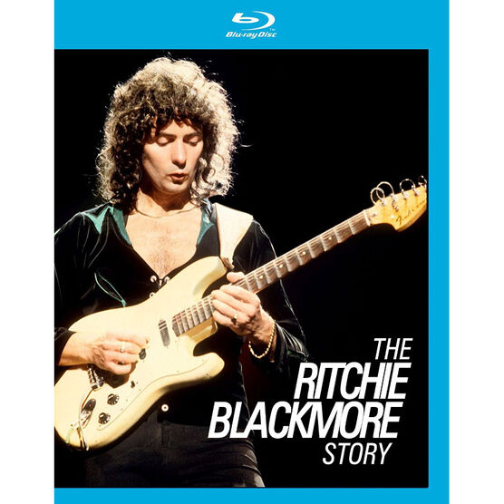Uneasy Rider: The Ritchie Blackmore Story - Blu-ray