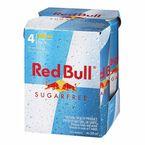Red Bull - Sugar Free - 4 x 250ml