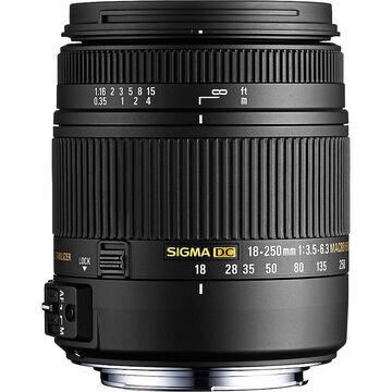 Sigma 18-250mm F/3.5-6.3 DC Macro OS II  Lens for Nikon -  OS18250MHN
