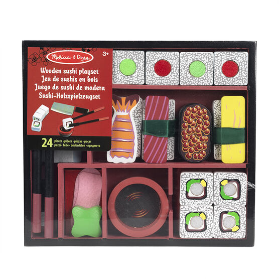 Melissa & Doug - Wooden Sushi Playset
