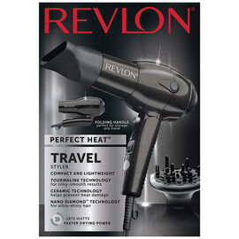 Revlon Perfect Heat Nano Diamond Travel Dryer - RVDR5163F