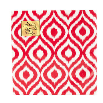 Art for the Table Napkins - Ikat - 20's