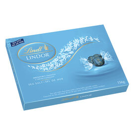Lindor Sea Salt Chocolate - 156g Box