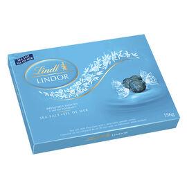 Lindor Sea Salt Chocolate - 156g Box