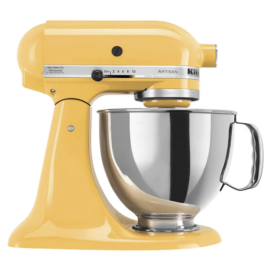 KitchenAid Artisan Series 5 quart Stand Mixer - Buttercup - KSM150PSBF