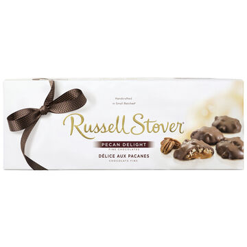 Russell Stover Chocolate Pecan Delight - 312g