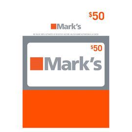 Mark's Gift Card - $50