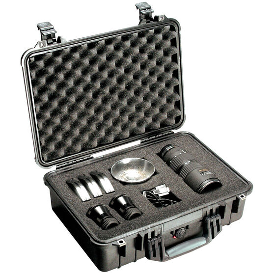 Pelican 1500 Case with Foam - 1500-000-110