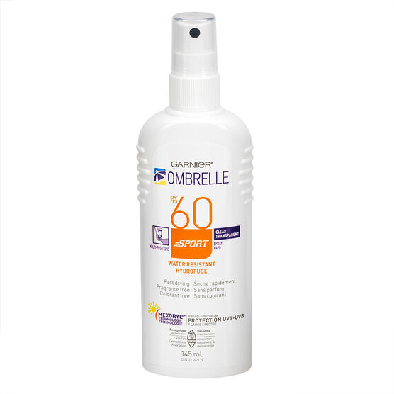 Ombrelle Sport Clear Spray -SPF60 - 145ml
