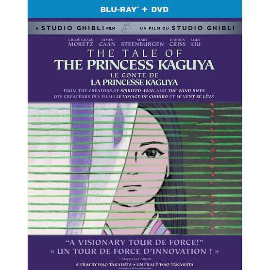 The Tale of the Princess Kaguya - Blu-ray + DVD