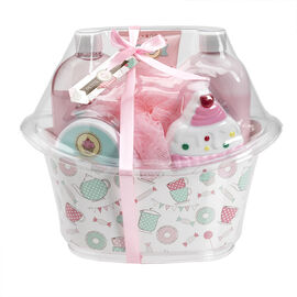 Petite Treats Bath Tub Gift Set - 6 piece