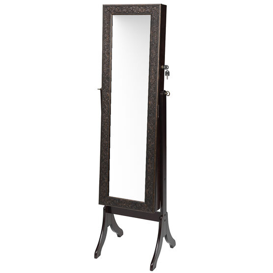 London Drugs Lily Jewelry Cabinet - Dark Brown