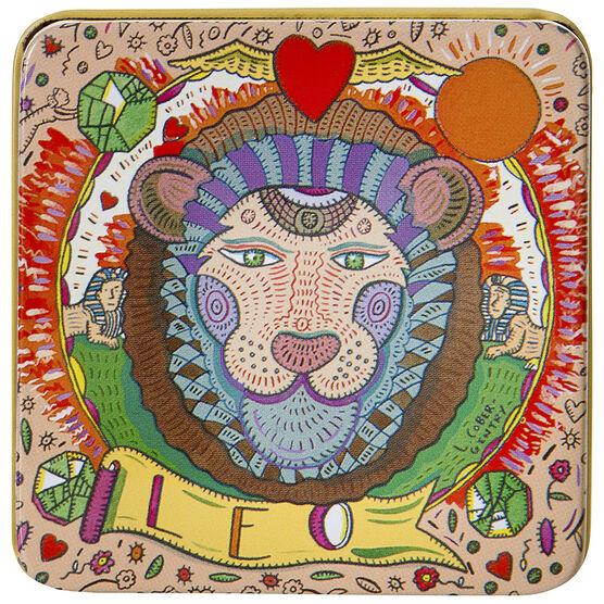 Zodiac Soap in Tin - Leo - 100g