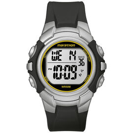 Timex Marathon Full Size Watch - Silver - T5K643C2
