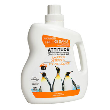 Attitude Laundry Detergent - Citrus Zest - 1.8 L/40 washload