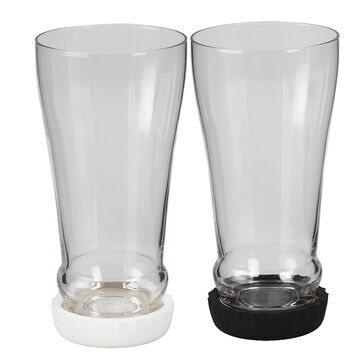 London Drugs Beer Glass with Silicon Base - Assorted - 460ml