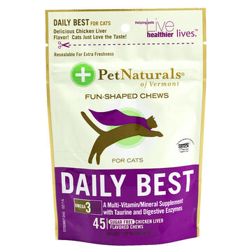 Pet Naturals Daily Best Chews for Cats - 45's