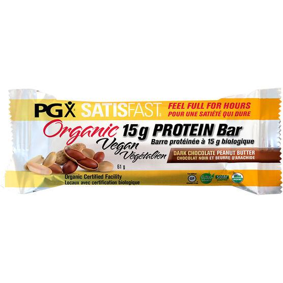 Webber PGX Satisfast Protein Bar - Dark Chocolate Peanut Butter - 61g