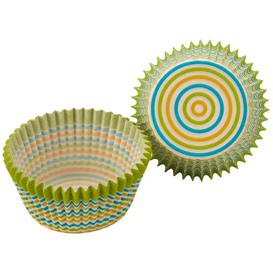 Cupcake Paper Cups - Stripes - 50's