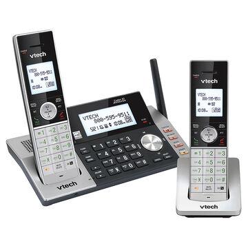 VTech 2 Handset Cordless Digital Answering System - Black - DS5151-2