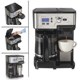 Hamilton Beach 2-Way Deluxe Coffee Maker - Black - 49983C