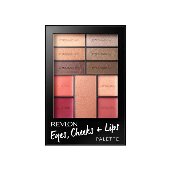 Revlon Eye, Cheek & Lip Palette - Romantic Nudes