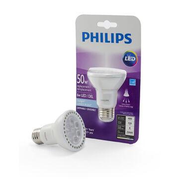 Philips PAR20 LED Light Bulb - Daylight - 6w/50w