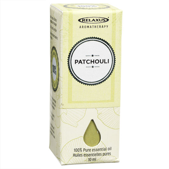 Relaxus Aromatherapy 100% Pure Essential Oil - Patchouli - 10ml