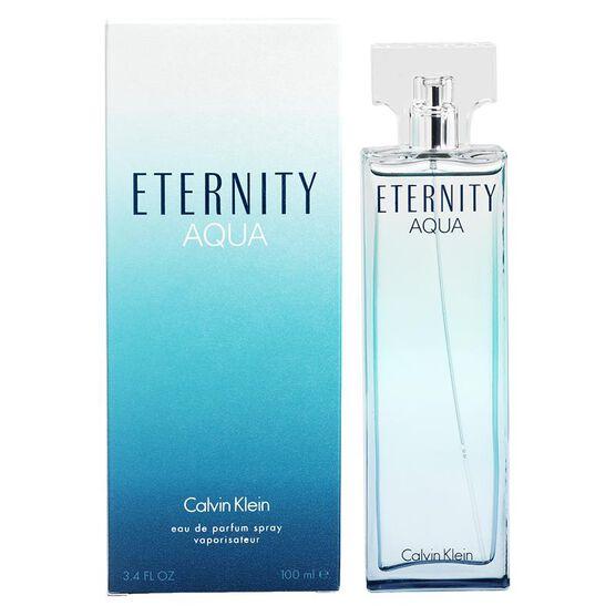 calvin klein eternity aqua for her eau de parfum 100ml. Black Bedroom Furniture Sets. Home Design Ideas