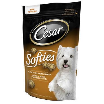 Ceasar Softies Dog Treats - Peanut Butter and Honey - 150g