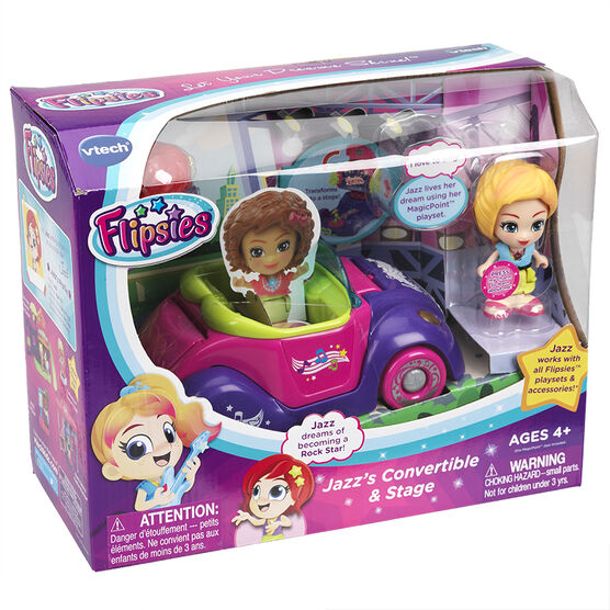 VTech Flipsies - Jazz's Convertible & Stage - Assorted