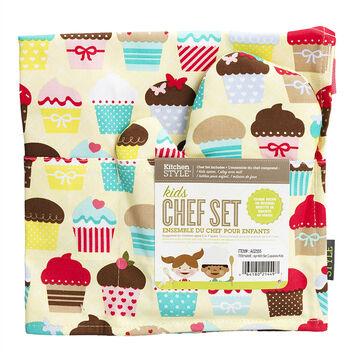 Kitchen Style Kids Set - Cupcakes