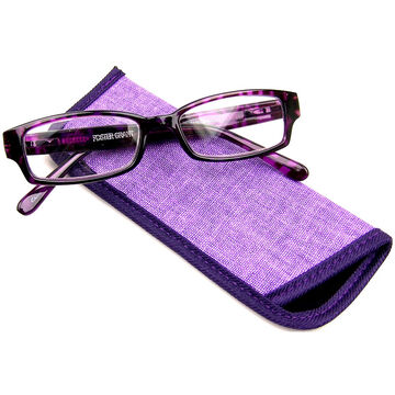 Foster Grant Aurora Reading Glasses with Case - 3.25