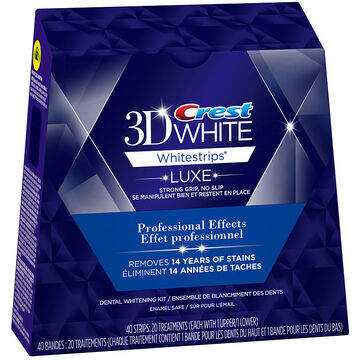 Crest 3D White Whitestrips Luxe - Professional Effects - 20's