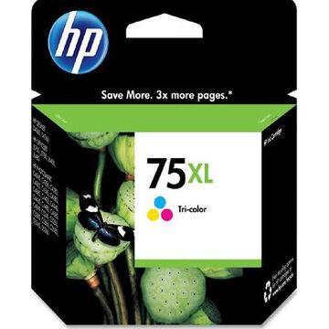 HP 75XL High Yield Original Ink Cartridge - Tri-Color - CB338WN#140