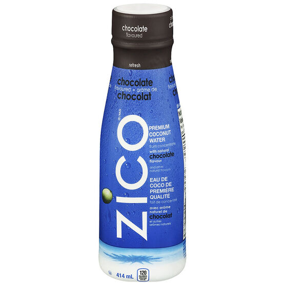 Zico Premium Coconut Water With Natural Chocolate Flavor - 414ml