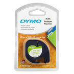 Dymo Letra Tag Tape Paper Label Refill 1/2 inch (12mm) - 91330