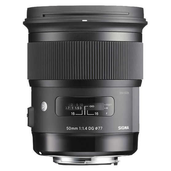 Sigma Art 50mm F1.4 DG HSC Lens for Nikon - A50DGHN