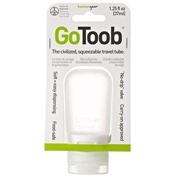 GoToob Travel Bottle - Clear - 37ml