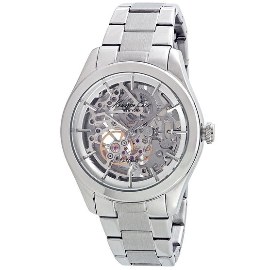 Kenneth Cole Automatic Watch - Silver - 10025560