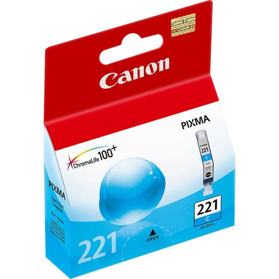 Canon CLI-221C Ink Cartridge - Cyan