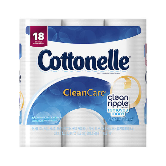 Cottonelle Clean Care Toilet Paper Big Rolls -18's