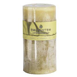 Enlighten Pillar Candle - Thai Lemongrass - 3 x 6inch
