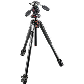 Manfrotto MT190XPRO3 Tripod + MHXPRO 3-Way Head - MK190XP33W