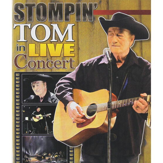 Stompin' Tom Connors in Live Concert - DVD